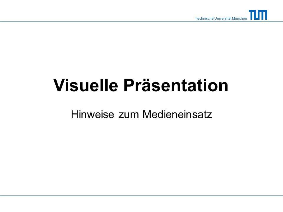 Visuelle Präsentation