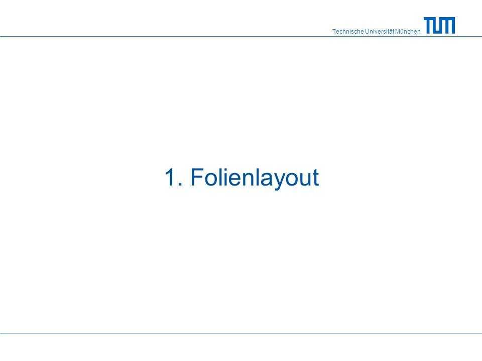 1. Folienlayout