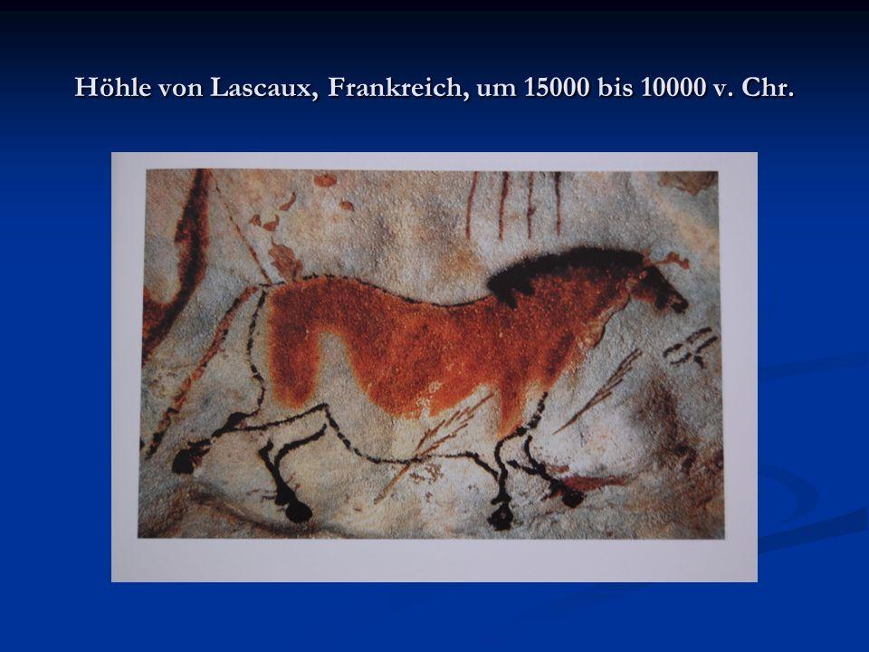 Höhle von Lascaux, Frankreich, um 15000 bis 10000 v. Chr.