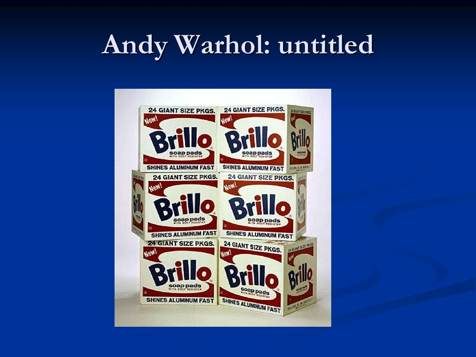 Andy Warhol: untitled