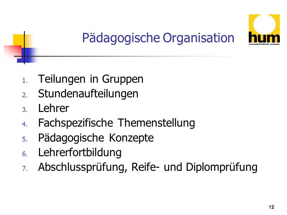 Pädagogische Organisation