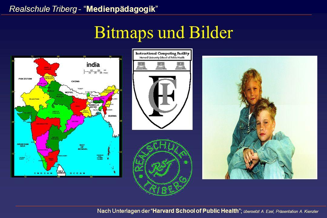 Bitmaps und Bilder