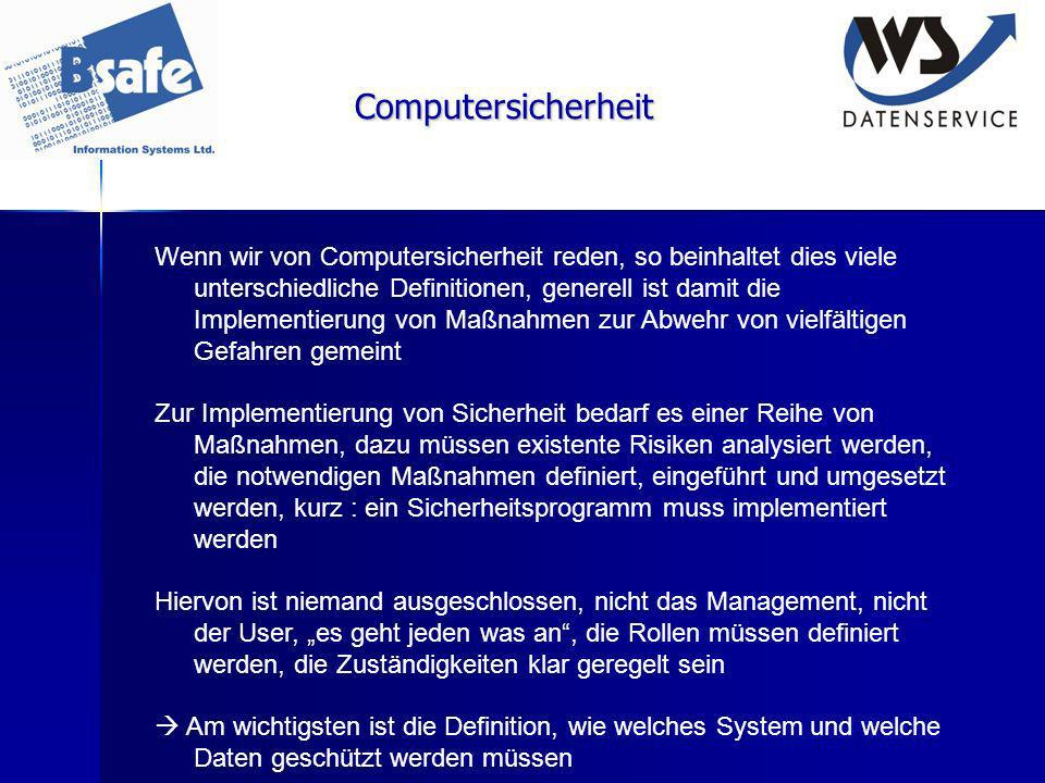 Computersicherheit