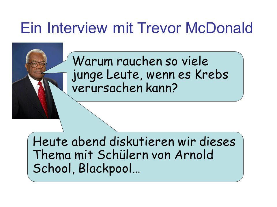 Ein Interview mit Trevor McDonald