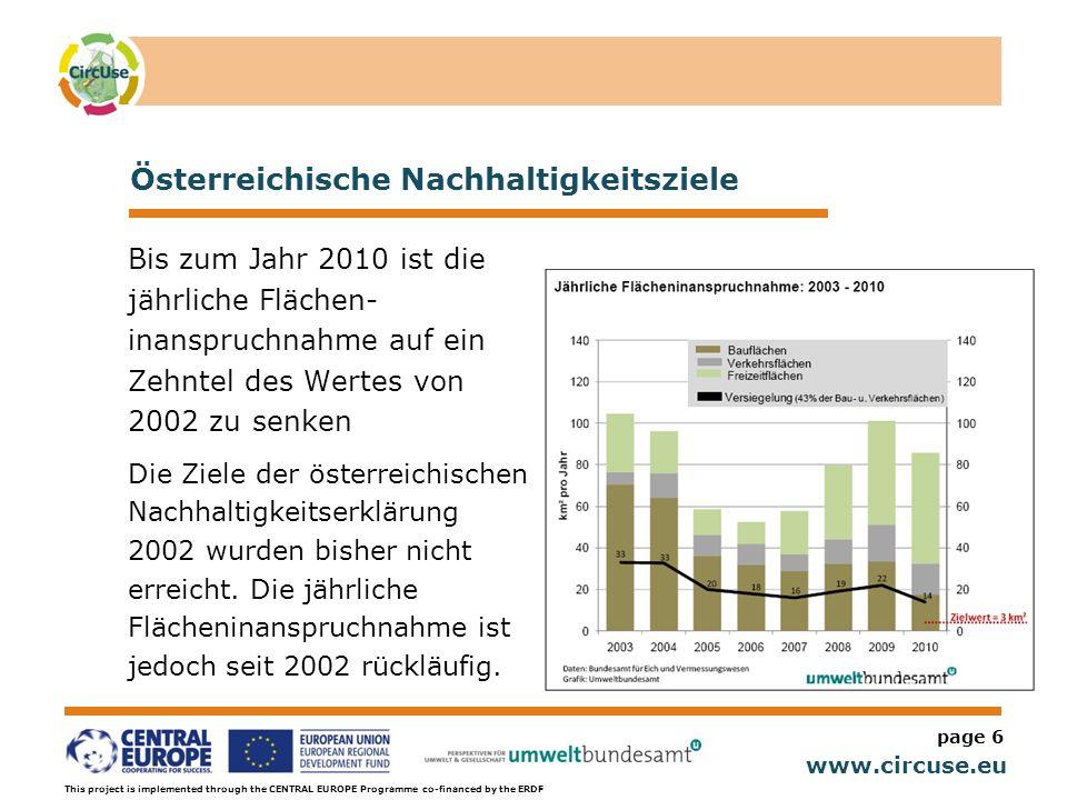 Österreichische Nachhaltigkeitsziele