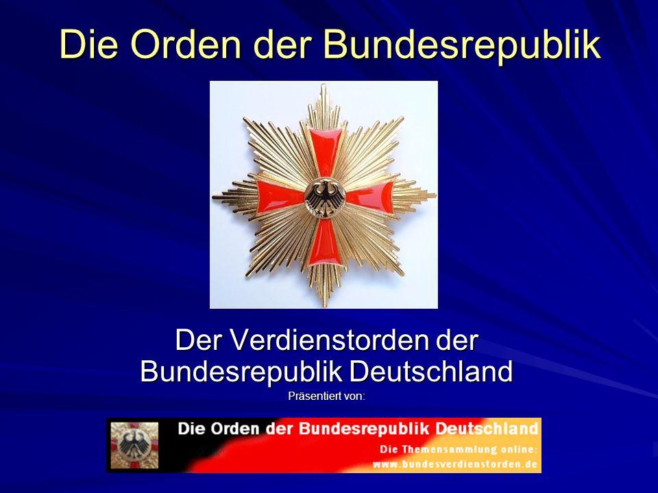 Die Orden der Bundesrepublik