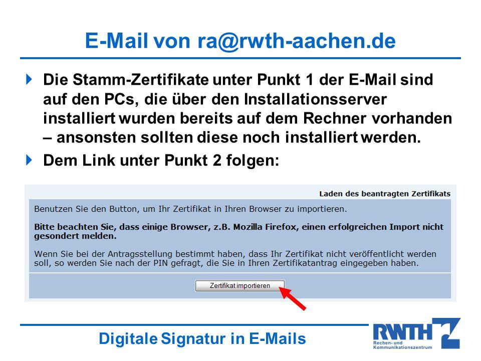 E-Mail von ra@rwth-aachen.de