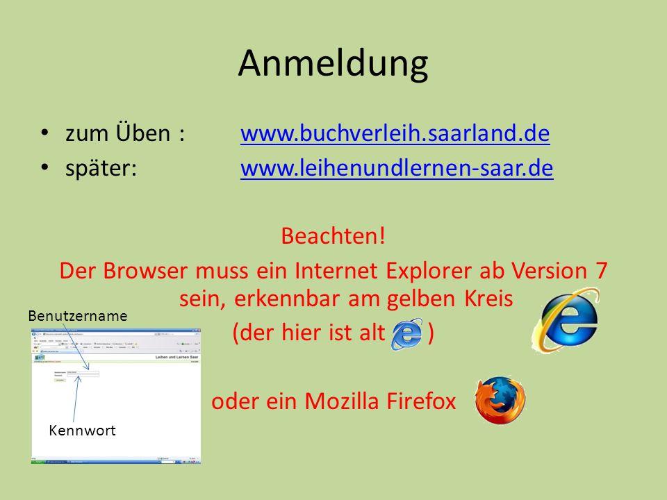 oder ein Mozilla Firefox