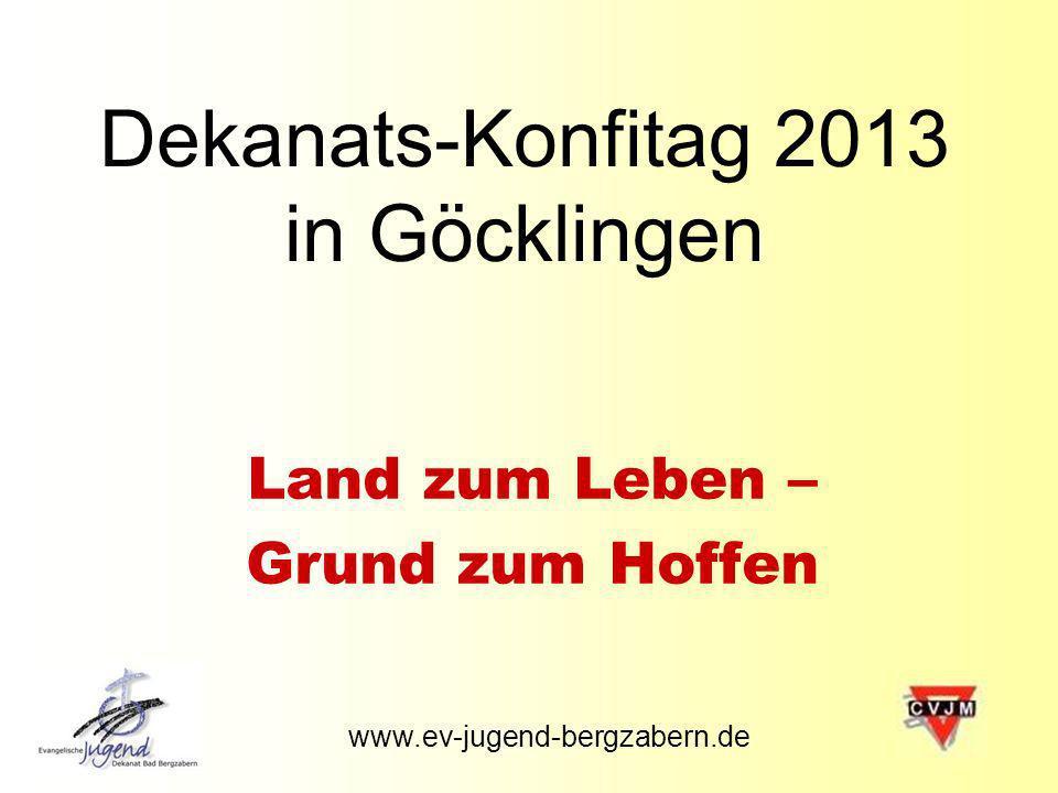Dekanats-Konfitag 2013 in Göcklingen