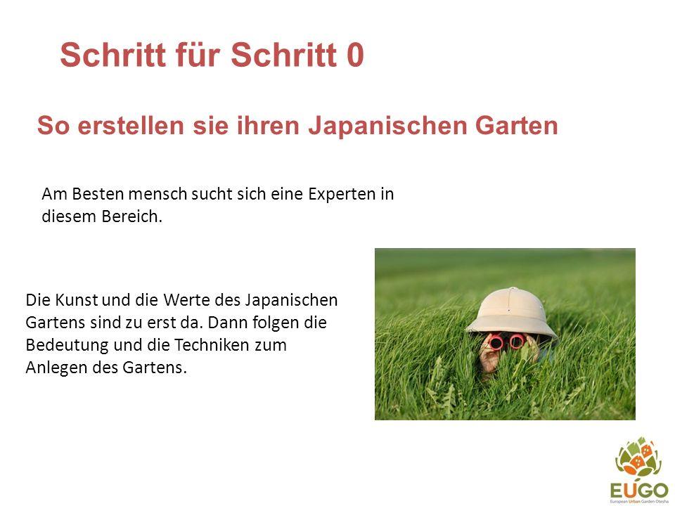 Schritt für Schritt 0 So erstellen sie ihren Japanischen Garten