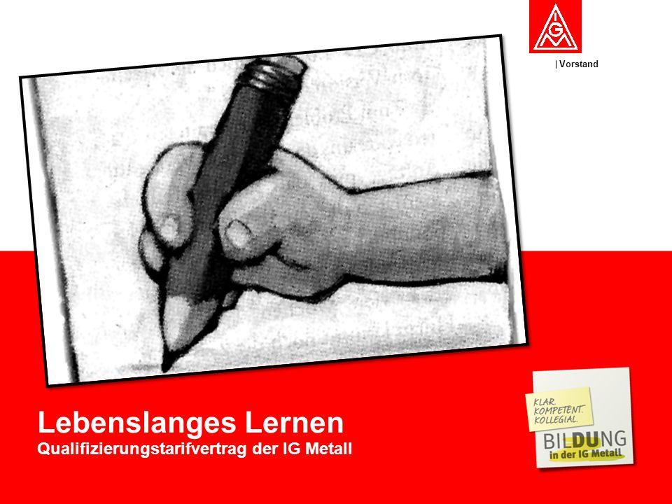 Qualifizierungstarifvertrag der IG Metall