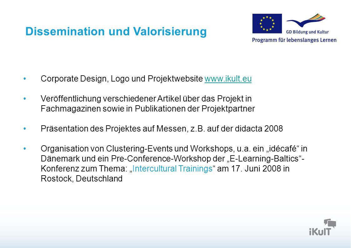 Dissemination und Valorisierung
