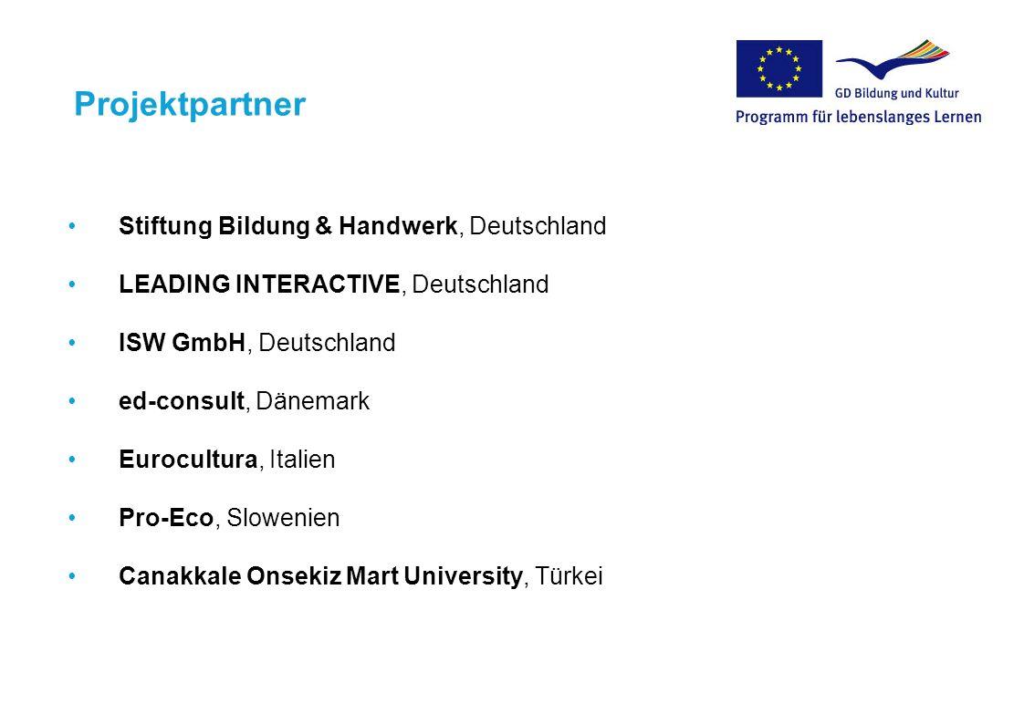 Projektpartner Stiftung Bildung & Handwerk, Deutschland