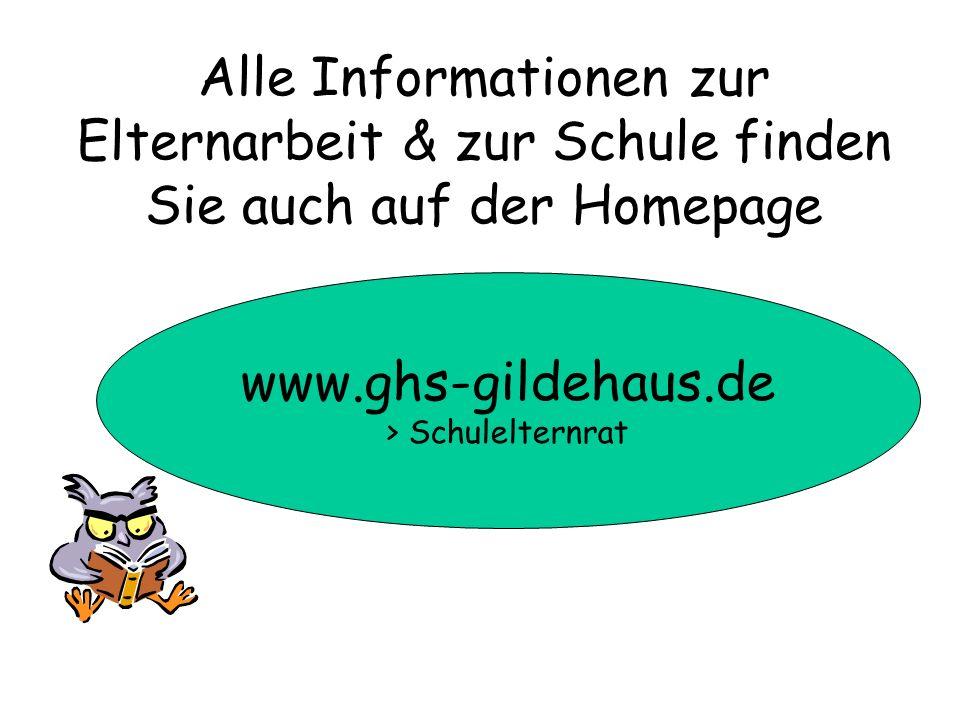 Alle Informationen zur Elternarbeit & zur Schule finden Sie auch auf der Homepage