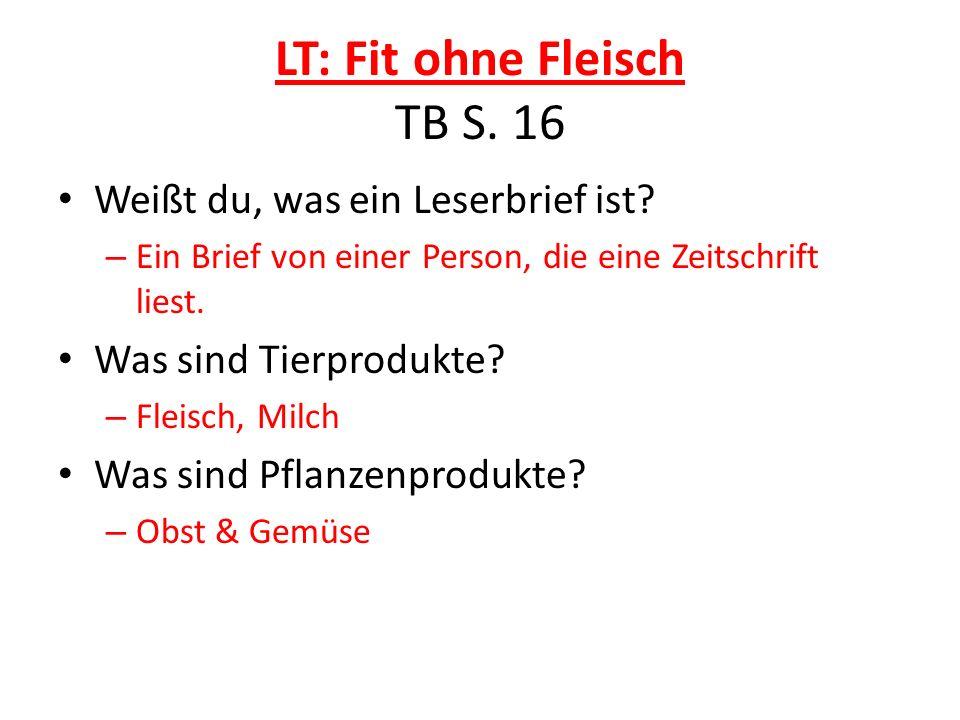 LT: Fit ohne Fleisch TB S. 16