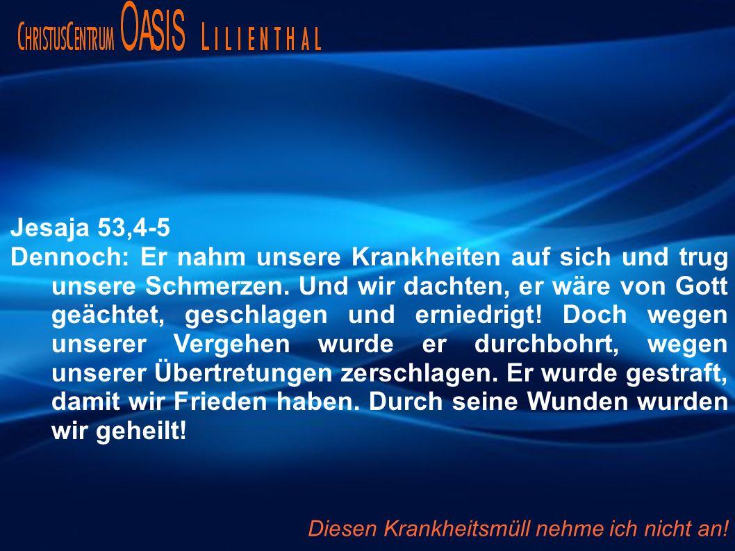 Jesaja 53,4-5