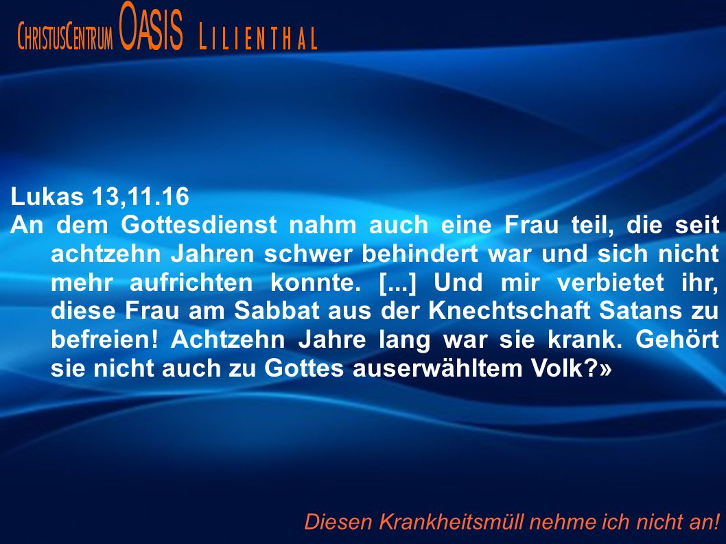 Lukas 13,11.16