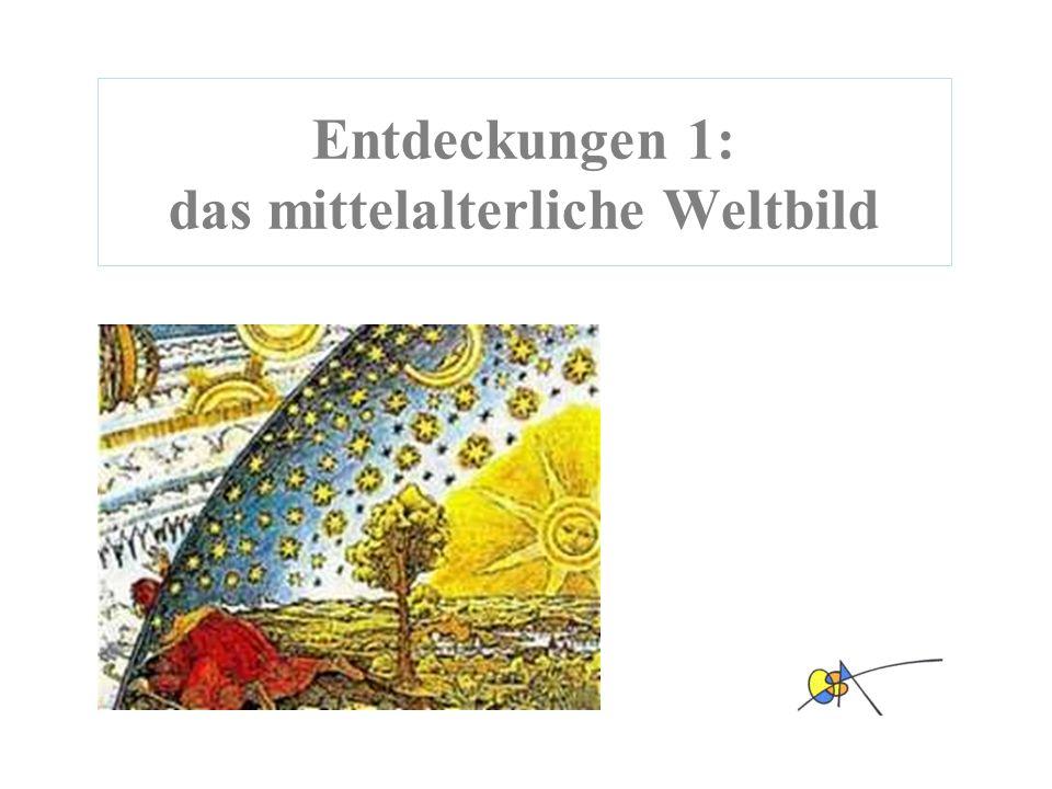 Weltbild Weihnachtskarten.Entdeckungen 1 Das Mittelalterliche Weltbild