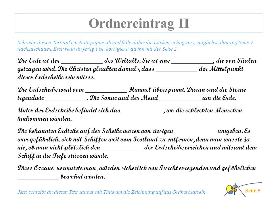 Ordnereintrag II