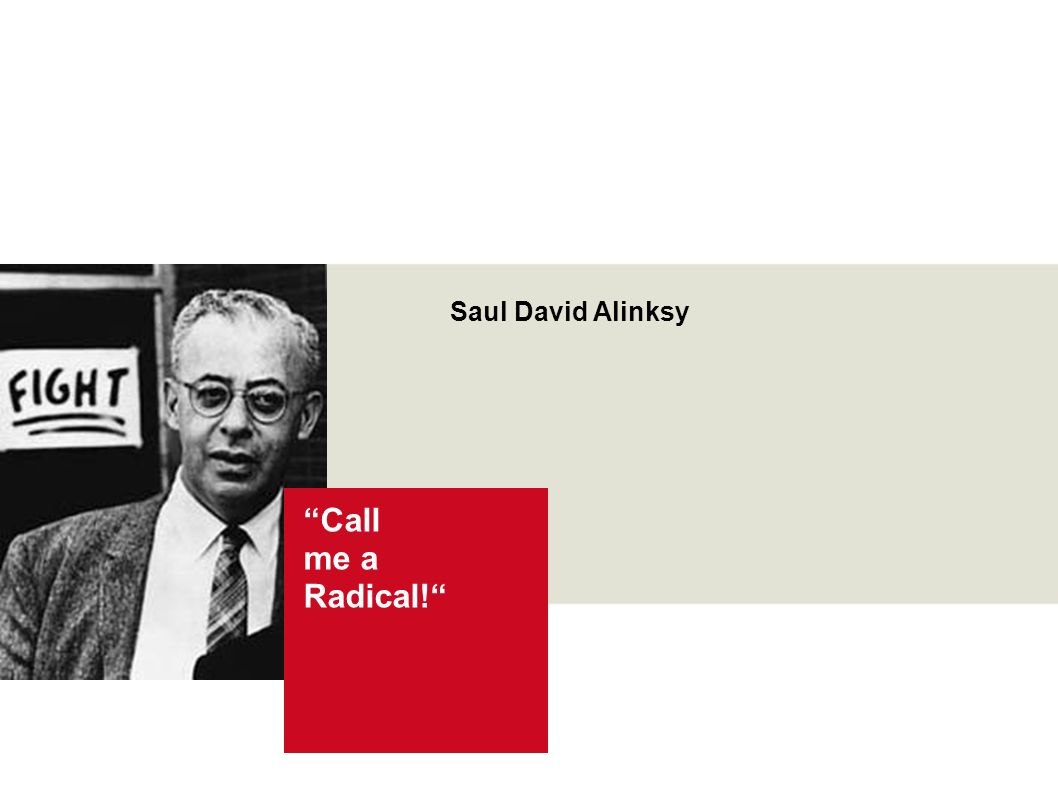 Call me a Radical! Wir und die Junge Generation