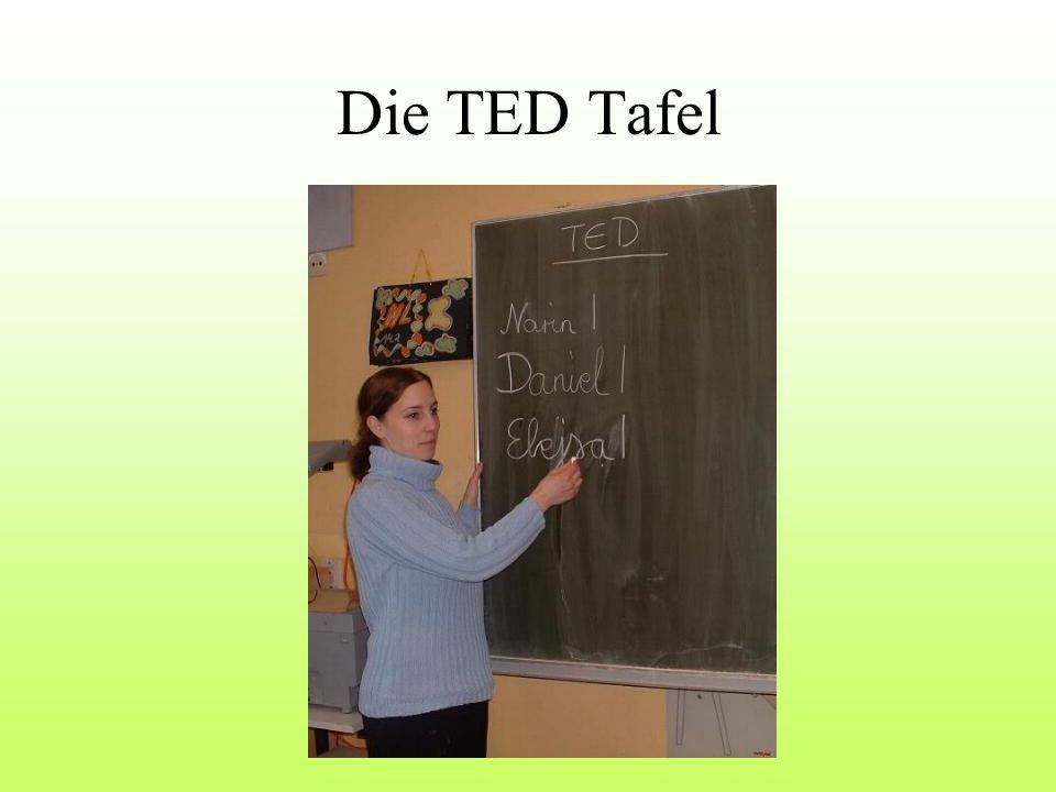 Die TED Tafel