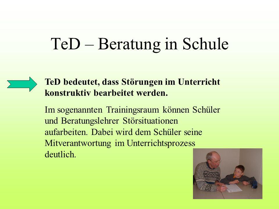 TeD – Beratung in Schule