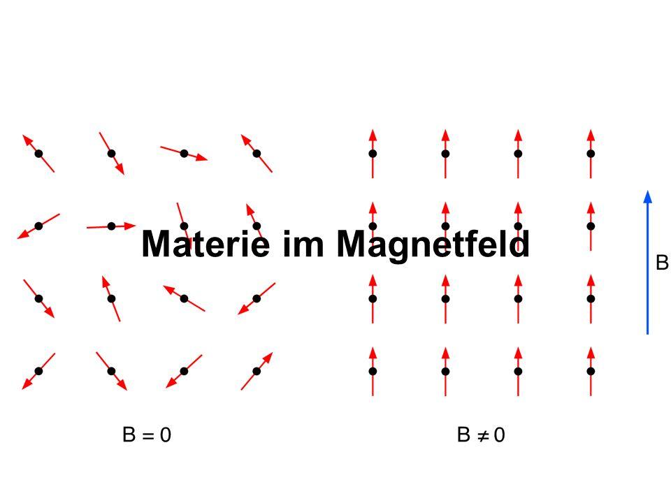 31.03.2017 Materie im Magnetfeld