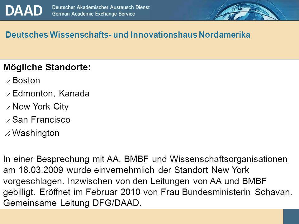 Deutsches Wissenschafts- und Innovationshaus Nordamerika