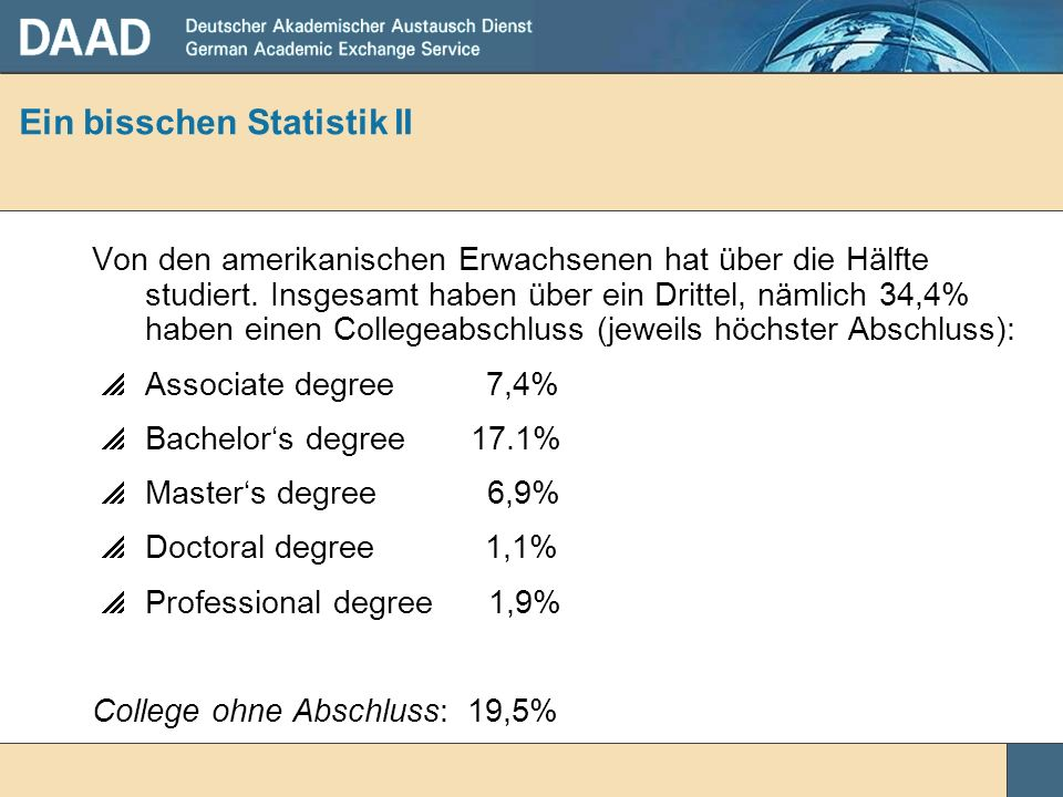 Ein bisschen Statistik II