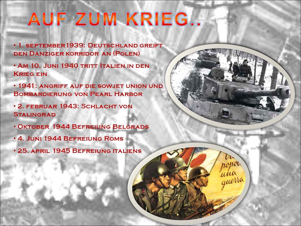 1. september1939: Deutschland greift den Danziger korridor an (Polen)