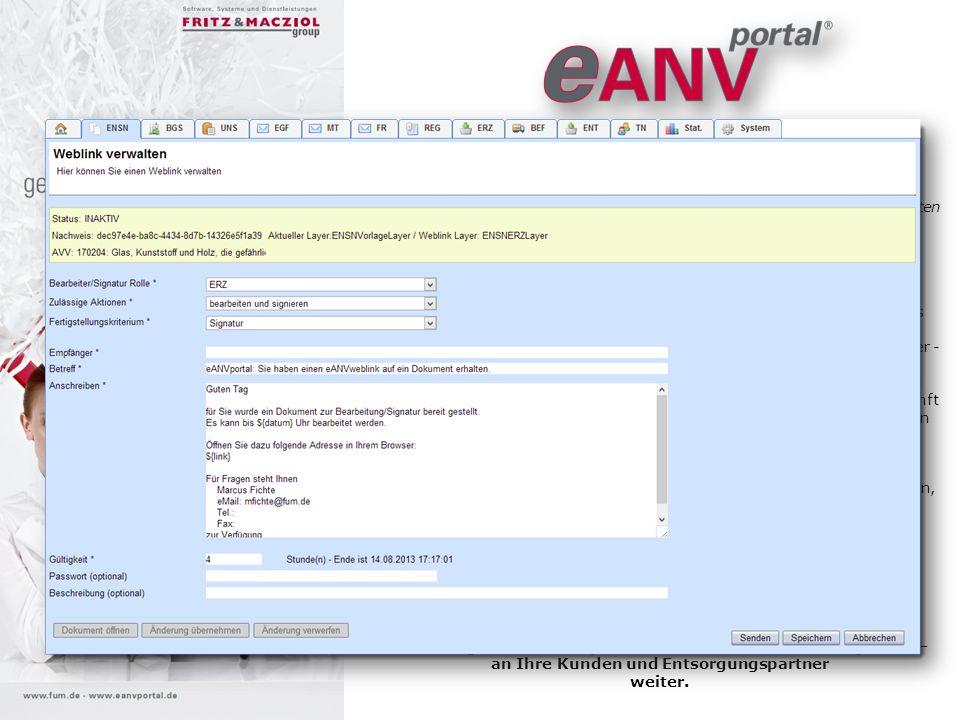 eANVportal® Weblink