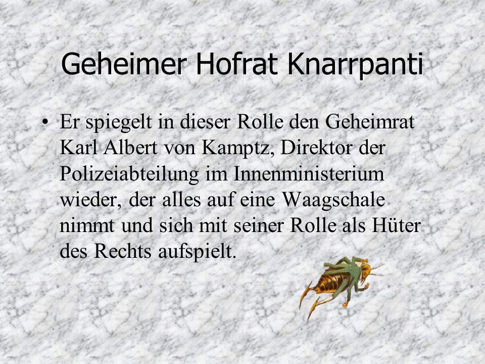 Geheimer Hofrat Knarrpanti