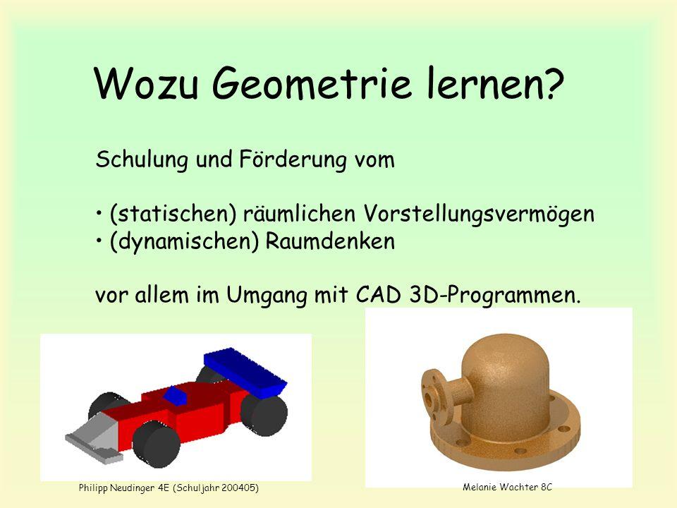 Wozu Geometrie lernen Schulung und Förderung vom