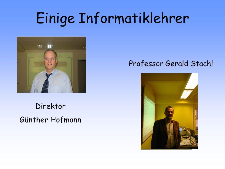 Einige Informatiklehrer
