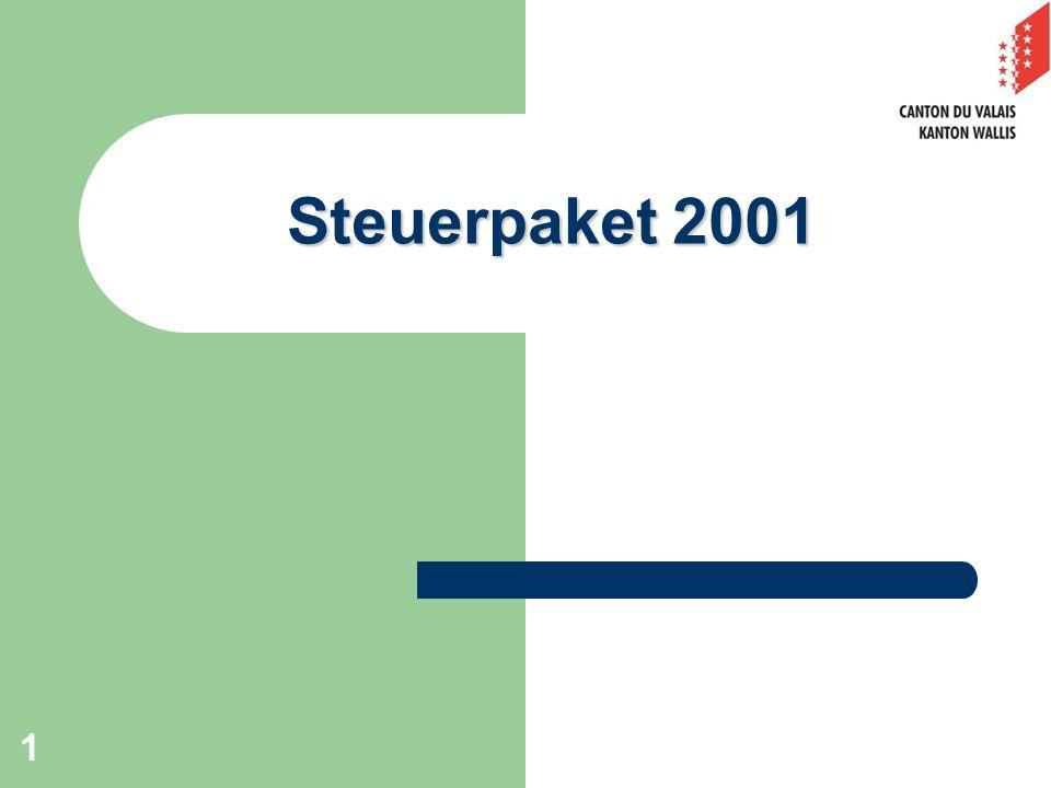 Steuerpaket 2001