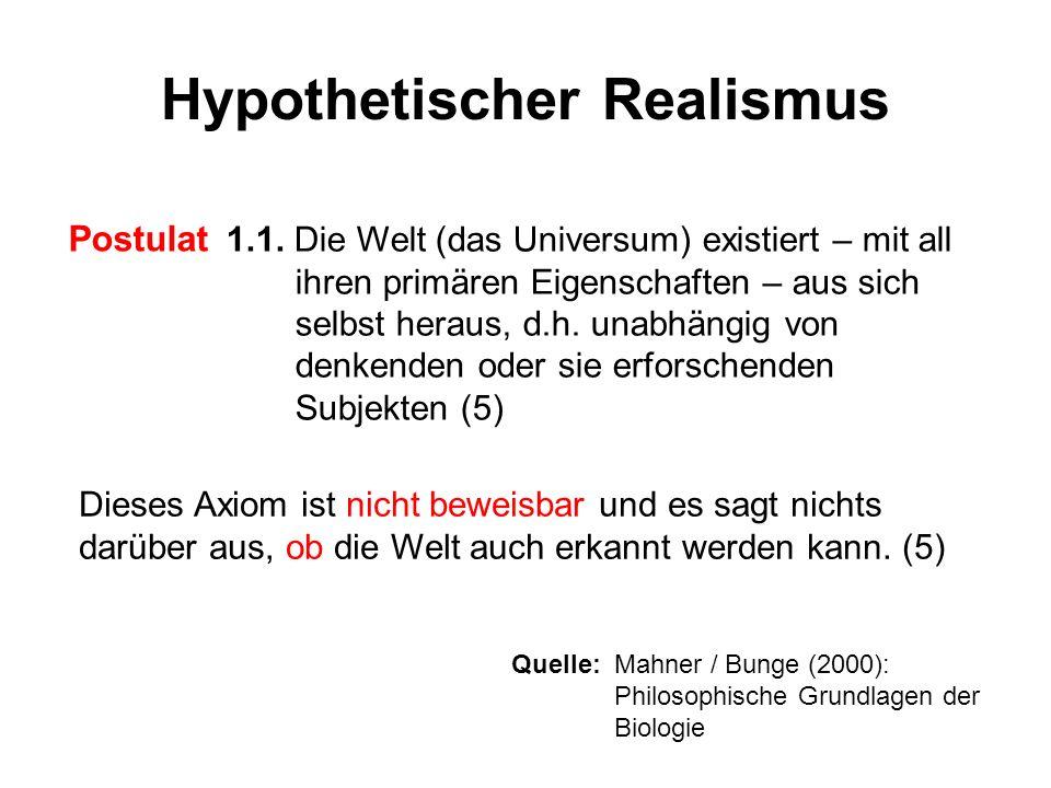 Hypothetischer Realismus