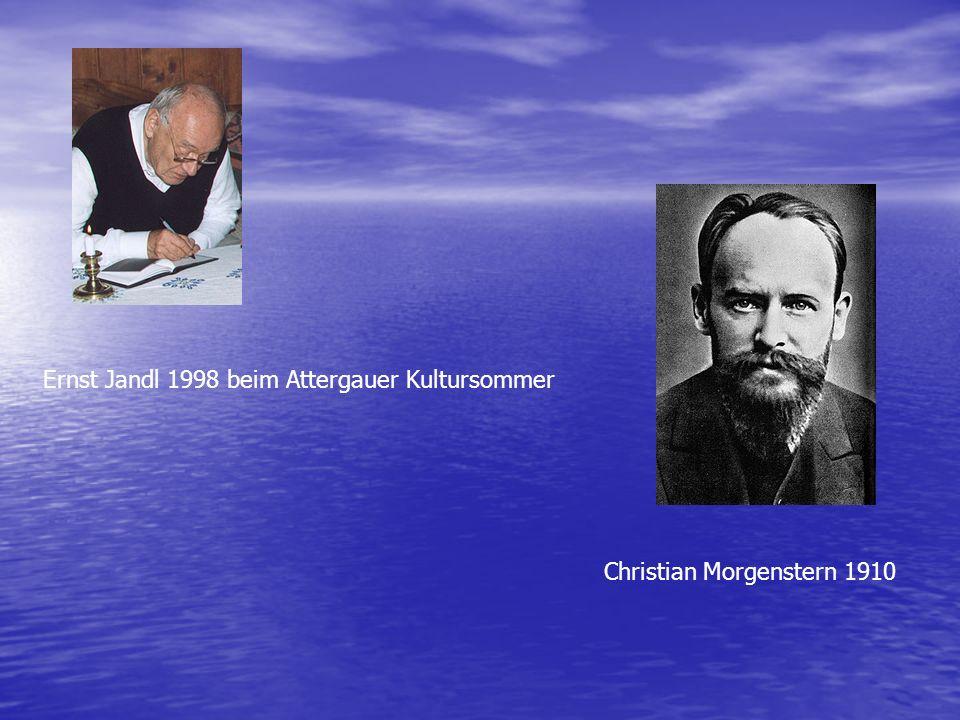 Ernst Jandl 1998 beim Attergauer Kultursommer