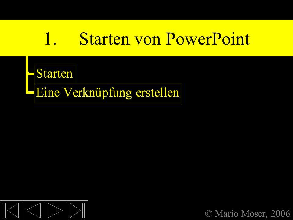 1. Starten von PowerPoint