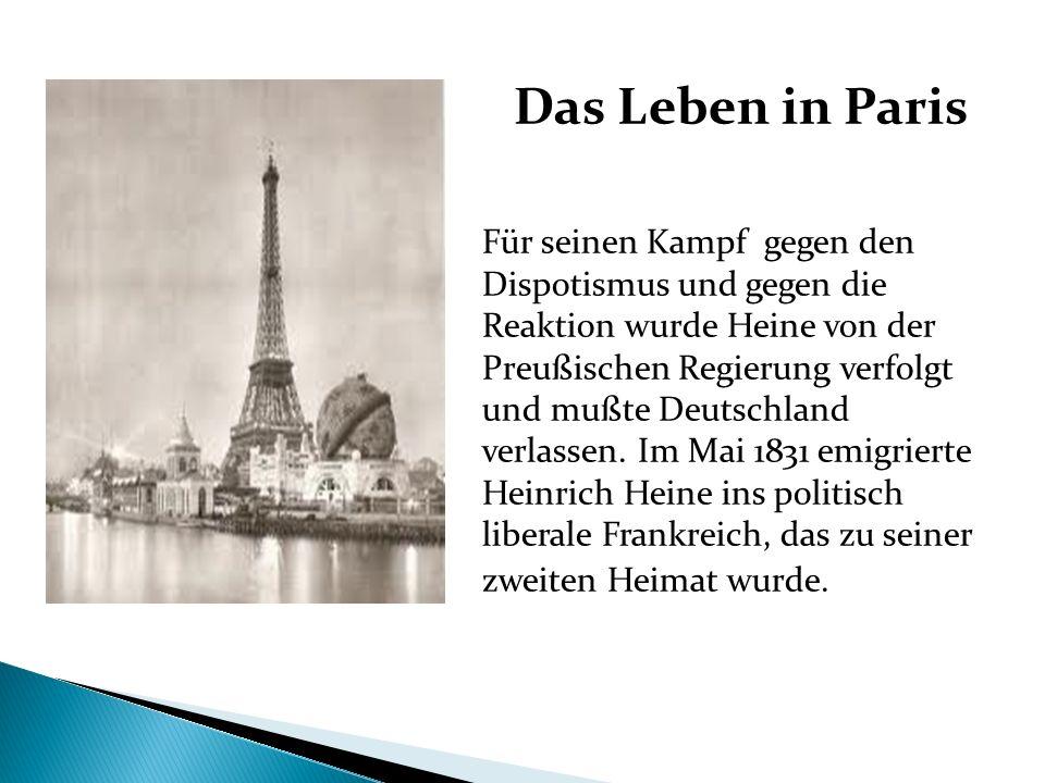 Das Leben in Paris