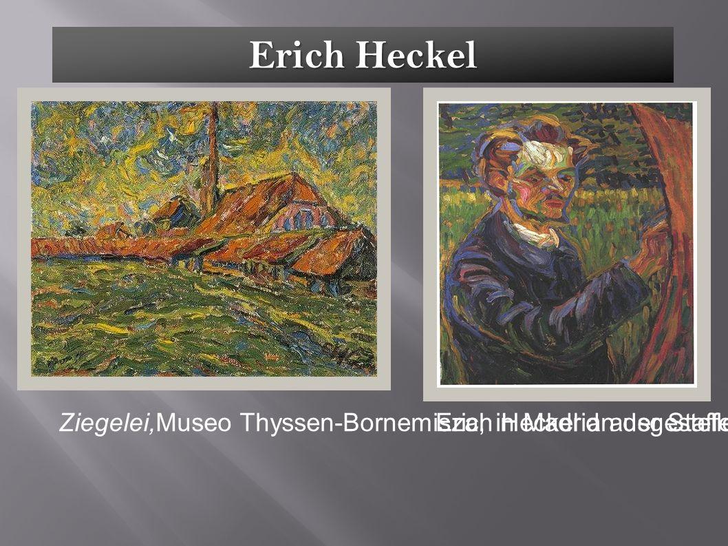 Erich Heckel Ziegelei,Museo Thyssen-Bornemisza, in Madrid ausgestellen