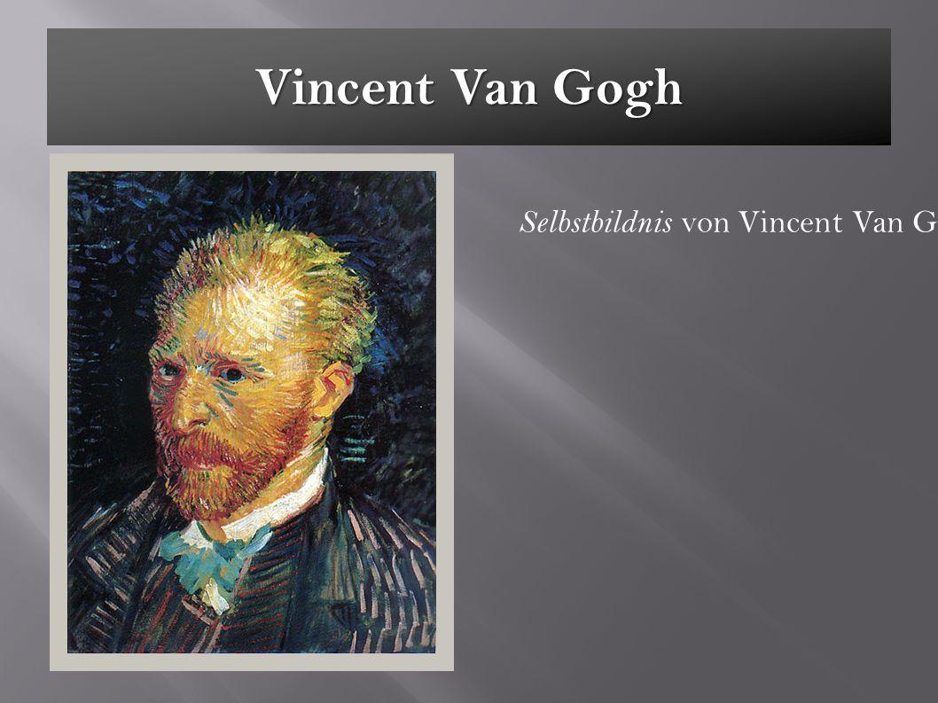 Vincent Van Gogh Selbstbildnis von Vincent Van Gogh 1887
