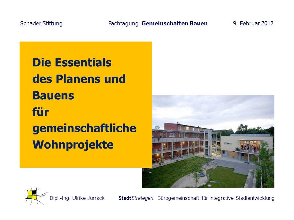 Die Essentials des Planens und Bauens