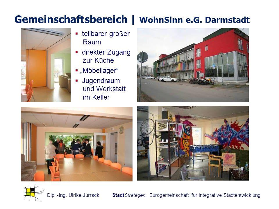 Gemeinschaftsbereich | WohnSinn e.G. Darmstadt