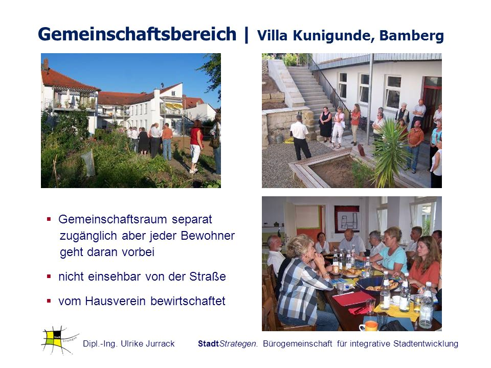 Gemeinschaftsbereich | Villa Kunigunde, Bamberg