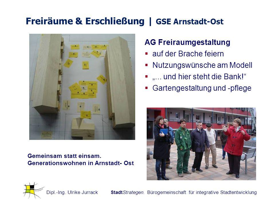 Freiräume & Erschließung | GSE Arnstadt-Ost