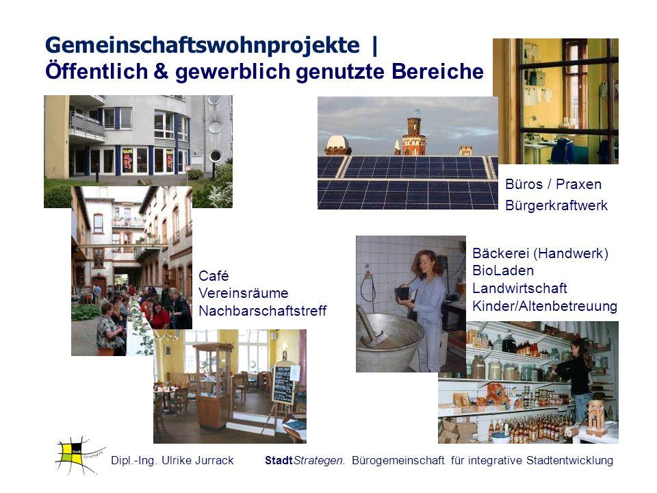 Gemeinschaftswohnprojekte | Öffentlich & gewerblich genutzte Bereiche