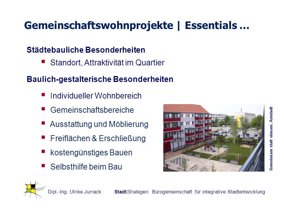 Gemeinschaftswohnprojekte | Essentials …