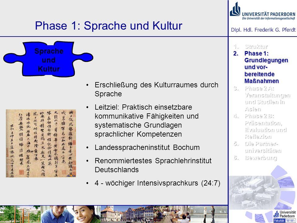 Phase 1: Sprache und Kultur