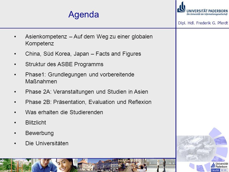 Agenda Asienkompetenz – Auf dem Weg zu einer globalen Kompetenz