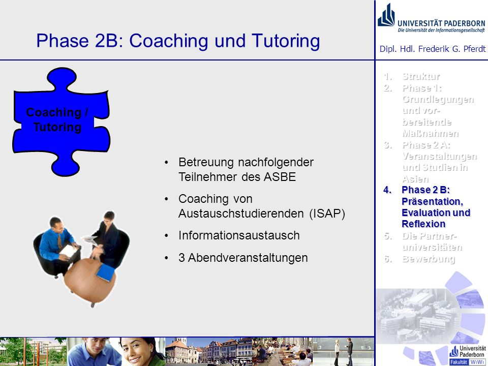 Phase 2B: Coaching und Tutoring